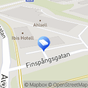 Karta Stockholm lunda företagsgrupp Spånga, Sverige