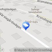 Karta Hp Smide O Fastighetsskötsel Spånga, Sverige