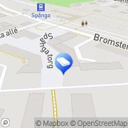 Karta Mäklarhuset Vällingby Spånga, Sverige