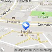 Karta ERA MäklarLänken Upplands-Väsby, Sverige