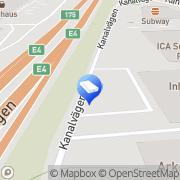 Karta Checkpoint Systems Sverige Upplands-Väsby, Sverige