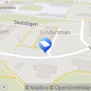 Karta Förskolan Glimten Stockholm, Sverige