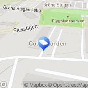 Karta Direktved Pellets Skärholmen, Sverige