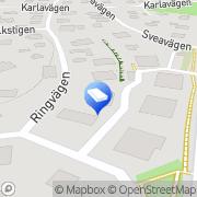 Karta H O Johansson Snickeri Firma Sundbyberg, Sverige