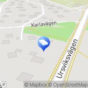Karta Waldorfförskolan Solgläntan Sundbyberg, Sverige
