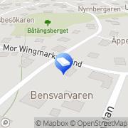 Karta Moretime AB Ekensberg, Sverige