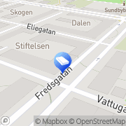 Karta GETR Tryck & Reklambyrå AB Sundbyberg, Sverige