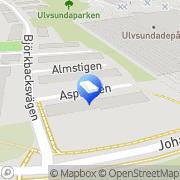 Karta Skorstenstätaren Skoglund AB Bromma, Sverige