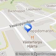 Karta Apotek Hjärtat Hökmossen, Sverige