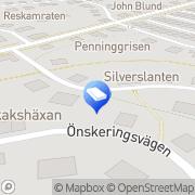 Karta Abrahamsbergs Fastighetsförvaltning AB Bromma, Sverige