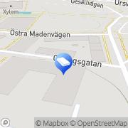 Karta Technosound AB Sundbyberg, Sverige