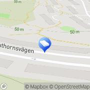 Karta T Lindman Transport Sollentuna, Sverige