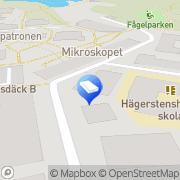Karta Fanal Controle Stockholm, Sverige