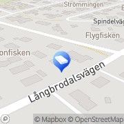 Karta L Jonsson Tr Konsult AB Hökmossen, Sverige