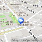 Mapa PKP Cargo S.A. Bydgoszcz, Polska