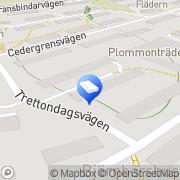 Karta Tellusborgshus B R F Årstadal, Sverige