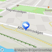 Karta H.B.S. All-Teknik Stockholm, Sverige