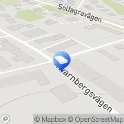 Karta Storängens Rör och Fastighetsservice Huddinge, Sverige