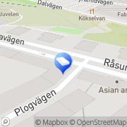 Karta Turlocks Måleri AB Solna, Sverige