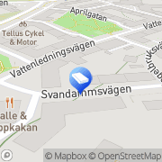 Karta Madebymelina Årstadal, Sverige