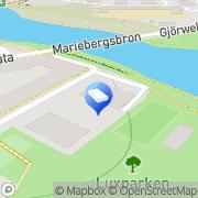 Karta Cadellator AB Stockholm, Sverige