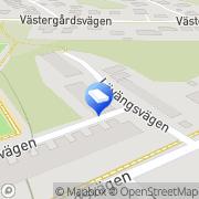 Karta Christian Engman Bygg & Tillverkning Huddinge, Sverige