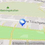 Karta Marc Roman Konsulting Solna, Sverige