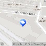 Karta Elvis Konsultverksamhet Stockholm, Sverige