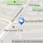 Karta Delicate Designs Stockholm, Sverige