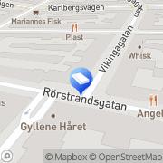 Karta Johan Matzons Enskilda Stockholm, Sverige