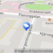 Karta Järnvägsmannen BRF Stockholm, Sverige