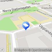 Karta Förskolan Röda Berget, Pysslingen Förskolor och Skolor AB Stockholm, Sverige