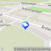 Karta Måleritradition Sören Asp AB Årsta, Sverige