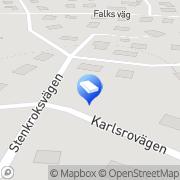 Karta Scankorea Danderyd, Sverige