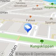 Karta Delsangrefilm Stockholm, Sverige