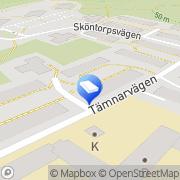 Karta Brf Hjälmaren-Sköntorp Årsta, Sverige