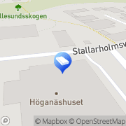 Karta Smart Microfiber Systems AB Nybygget, Sverige