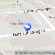 Karta AV-Line AB Nybygget, Sverige