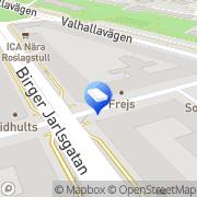 Karta Brf Beckasinen 2 Stockholm, Sverige