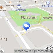 Karta Vebu - Konsult Stockholm, Sverige