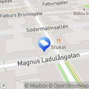 Karta Liu, Ding Xiu Stockholm, Sverige