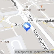 Karta POCKET SHOP Stockholm, Sverige