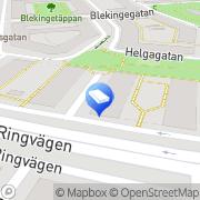 Karta Jaha Persontransporter Stockholm, Sverige