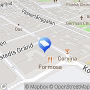 Karta Staples Stockholm, Sverige