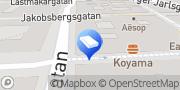 Karta Ciceron Group Stockholm, Sverige