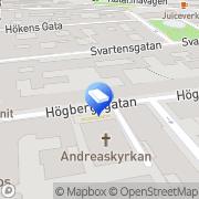 Karta Unghanse Förvaltning AB Stockholm, Sverige