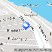Karta Dennis Eriksson Stockholm, Sverige
