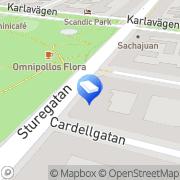Karta Christies Auktionshus Stockholm, Sverige