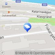 Karta Chiffer Media Stockholm, Sverige