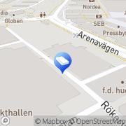 Karta Eriksson & Sjöhag El AB Årstaskog, Sverige